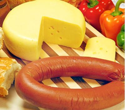 Picture of Tempting Twosome: Baby Swiss with Trail Bologna