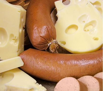 Picture of Tempting Twosome: Premium Swiss with Trail Bologna or Summer Sausage