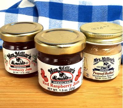 Mrs. Millers Jams and Jellies