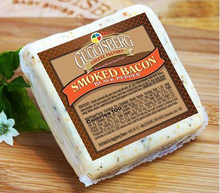 Guggisberg Smoked Bacon Black Pepper Cheese