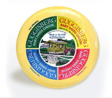 2 lb. Wheel of Original Baby Swiss Cheese