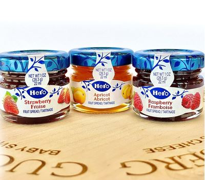 Picture of Swiss Mini Fruit Spreads
